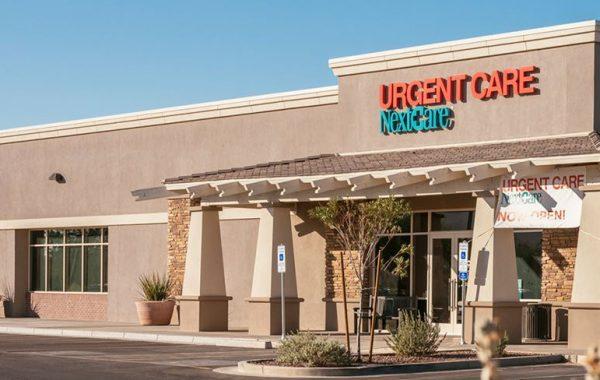 NextCare Urgent Care Exterior in Phoenix