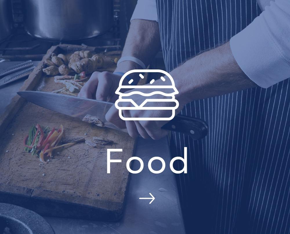Food Expertise Decibel Blue