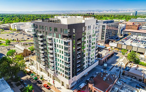 Laurel Cherry Creek Building Denver Real Estate